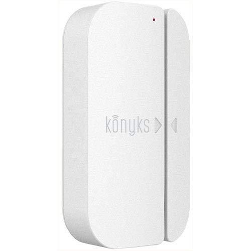 Konyks Senso, Detector de Apertura Wi-Fi, Compatible con Alexa y Google Home, notificaciones Via teléfonos Inteligentes y acciones en Otros Dispositivos