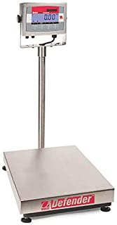 Ohaus D32XW15VR Defender 3000 Xtreme Legal for Trade Washdown Bench Scale 30 X 0 005 lb