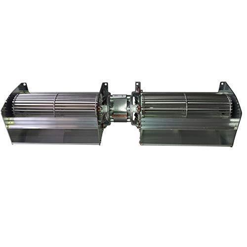 Ventilatore tangenziale doppio stufa pellet e camini TGD 80/1-220/35 EMMEVI - FERGAS 230x44mm EDILKAMIN