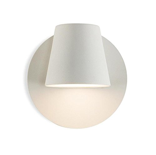 H&M LED Mur Lumière Moderne Éclairage Lampe Tête 350 ° Rotatif Givré De Cuisson Peinture Fer Mur Applique Applique avec 1.5 M Fil Et Commutateur Pour Chevet Chambre Salon Décoration