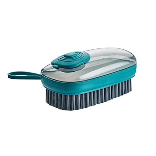 BSTTAI Spülbürste mit Spülmittelspender, Palmenbürste Küchenbürste Für Spülreinigung Topf Pfanne Spüle, Küche Badezimmer Schuhbürste Für Dish Pot Pan Schuhe Reinigung