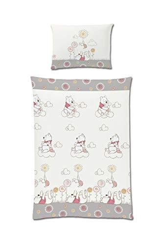 Tex idea Disney Winnie Pooh Baby Kinder Bettwäsche 100x135 Baumwolle Renforce