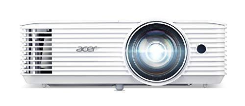 Acer H6518STi - Proiettore DLP a breve distanza (Full HD, 1.920 x 1.080 Pixel, 3.500 ANSI lumen, 10.000:1 Contrasto, 3D Ready, HDMI (HDCP), audio, Keystone) Home Cinema