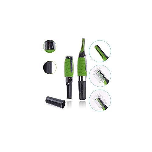InnovaGoods Wellness Beauté - Cortapelos eléctrico de precisión con LED