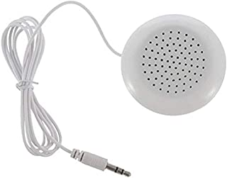 $42 » Yangmanini Buying New Portable 3.5mm Pillow Speaker for MP3 MP4 CD iPod Phone White