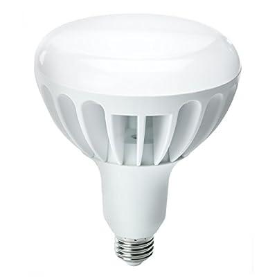Kobi Electric K2L6 8-watt (45-Watt) Multi Voltage 277v R20 LED 4100K White Indoor Flood Light Bulb, Non-Dimmable