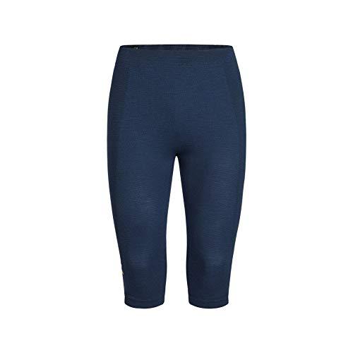 Montura Pantalon 3/4 sans Coutures pour Homme Bleu Scuro/Bleu, XS-M
