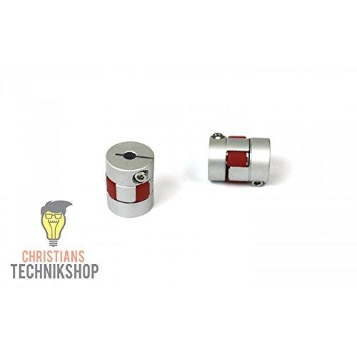 Wellenkupplung 20mm 5NM - 8mm / 10mm   z.B für CNC,Schrittmotoren,etc