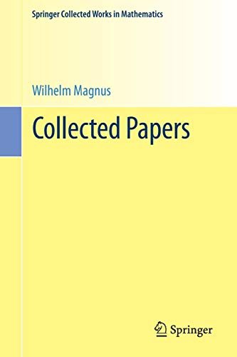 Collected Papers (Springer Collected Works in Mathematics)の詳細を見る