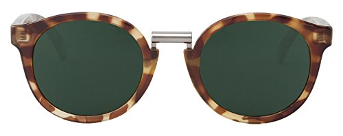 MR.BOHO, High-Contrast tortoise fitzroy with classical lenses - Gafas De Sol unisex multicolor (carey), talla única