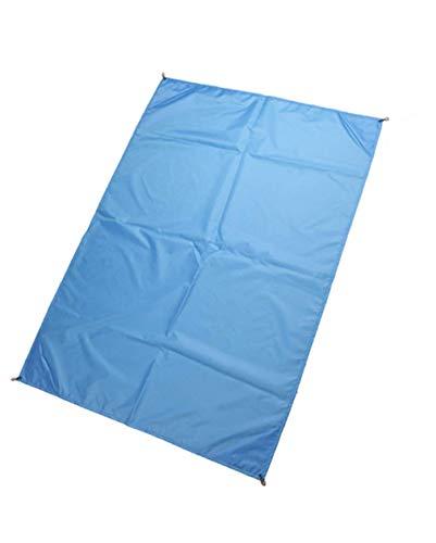 Apanphy® Manta de Picnic alfombras Manta de Playa de Bolsillo a Prueba de Agua a Prueba de Viento Ligero portátil - 145x200cm para Actividades de Senderismo al Aire Libre excursión Viaje (Azul)