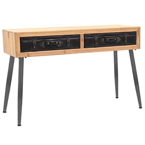 UnfadeMemory Mesa Consola Recibidor de Entrada con Diseño de Maleta,Mesa Alta Cocina,Mesa...