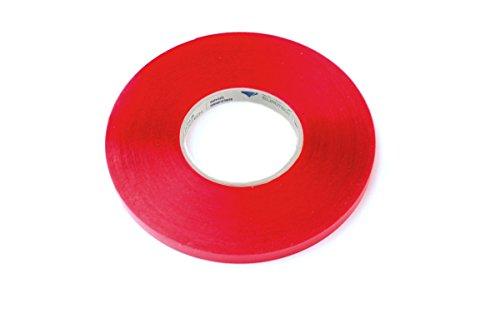 BONUS Eurotech 2BS40.00.0012/010A # dubbelzijdig acrylschuimplakband, schuimende lijm, lengte 10 m x breedte 12 mm x totale dikte 0,5 mm, doorzichtig
