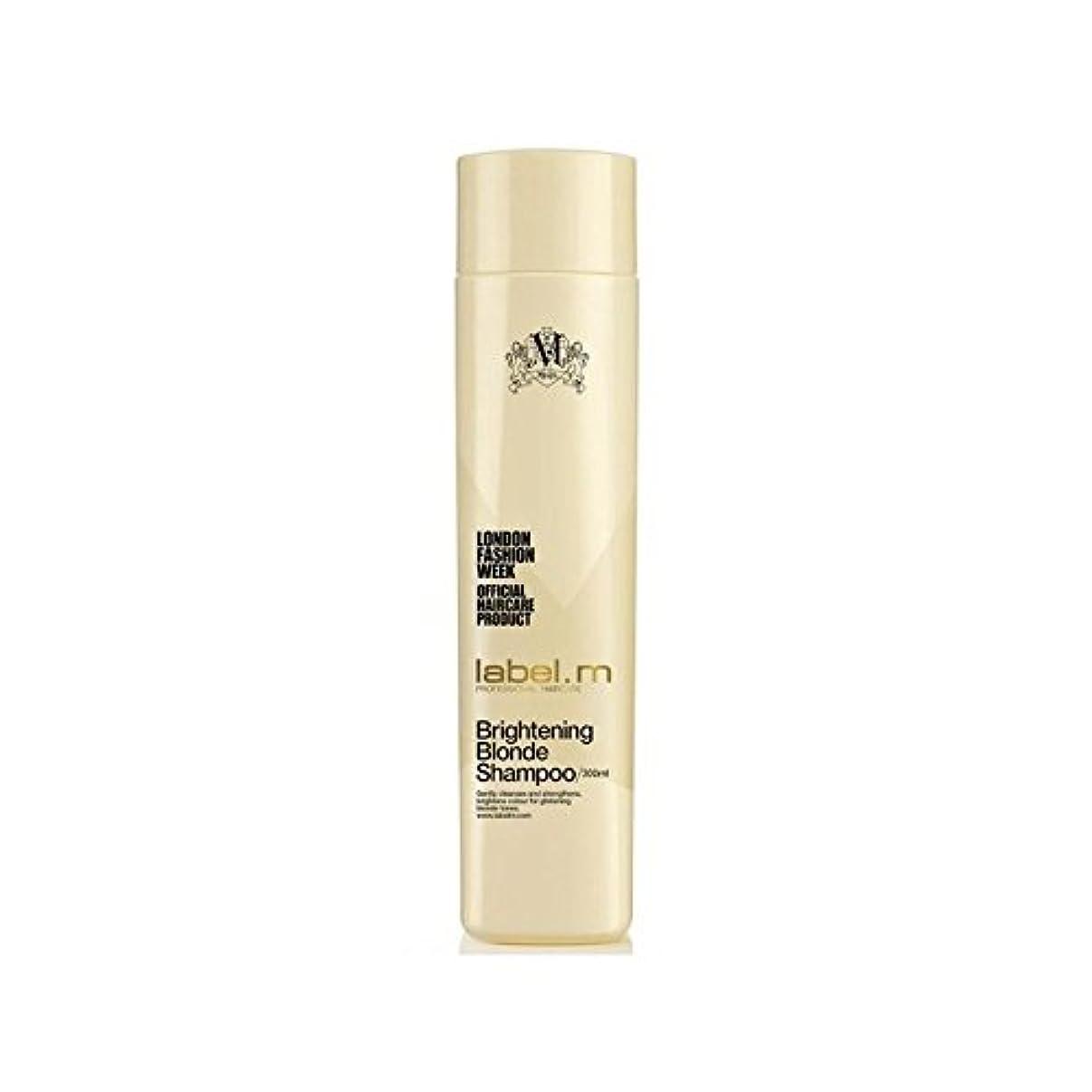 葉巻構成員そこLabel.M Brightening Blonde Shampoo (300ml) (Pack of 6) - .明るくブロンドシャンプー(300ミリリットル) x6 [並行輸入品]