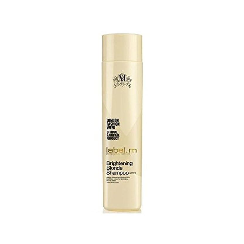 矩形隣接等.明るくブロンドシャンプー(300ミリリットル) x2 - Label.M Brightening Blonde Shampoo (300ml) (Pack of 2) [並行輸入品]