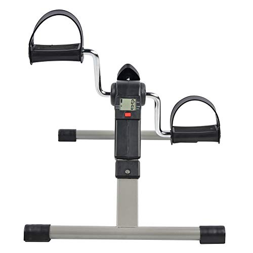 Tubo De Acero Galvanoplastia Mini Ejercicio Plegable Fitness Stepper Interior Hogar Portátil...
