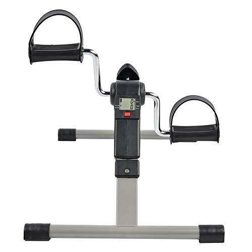 Tubo De Acero Galvanoplastia Mini Ejercicio Plegable Fitness Stepper Interior Hogar Portátil Pierna Entrenamiento Bicicleta