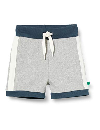Fred'S World By Green Cotton Skate Sweat Shorts, Gris (Pale Grey Marl 207670000), 95 (Taille Fabricant: 80) Bébé garçon