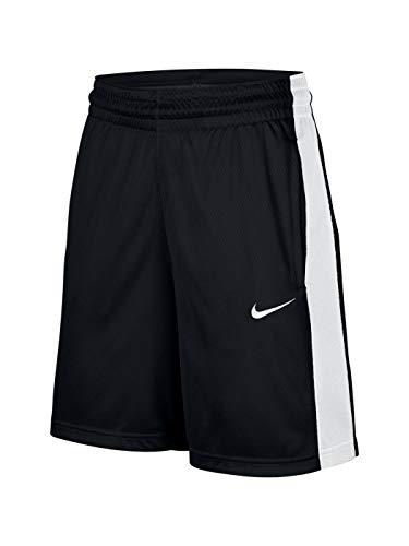 Nike Damen W Nk Dry Short Essential Kurze Hose, Schwarz/Weiß/Weiß, M