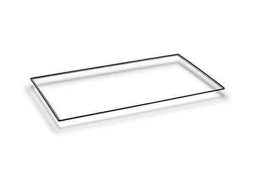 SILVERLINE 625131010 Außenrahmen für Flow-In (aufgesetzte Montage) / Dunstabzugshaubenzubehör