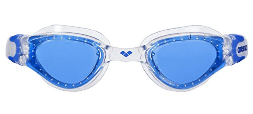 arena Kinder Unisex Training Freizeit Schwimmbrille Cruiser Soft Junior (UV-Schutz, Anti-Fog Beschichtung), Clear-Blue-Clear (17), One Size