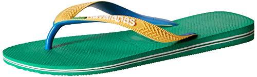 Havaianas Unisex 4123206-2078_37/38 flip-Flops, Green, EU
