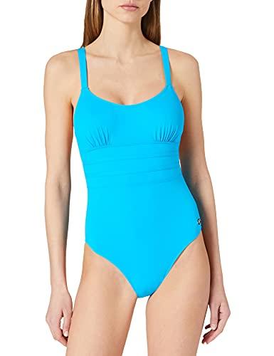 Haute Pression Damen N1003 Badeanzug, Turquoise, 44