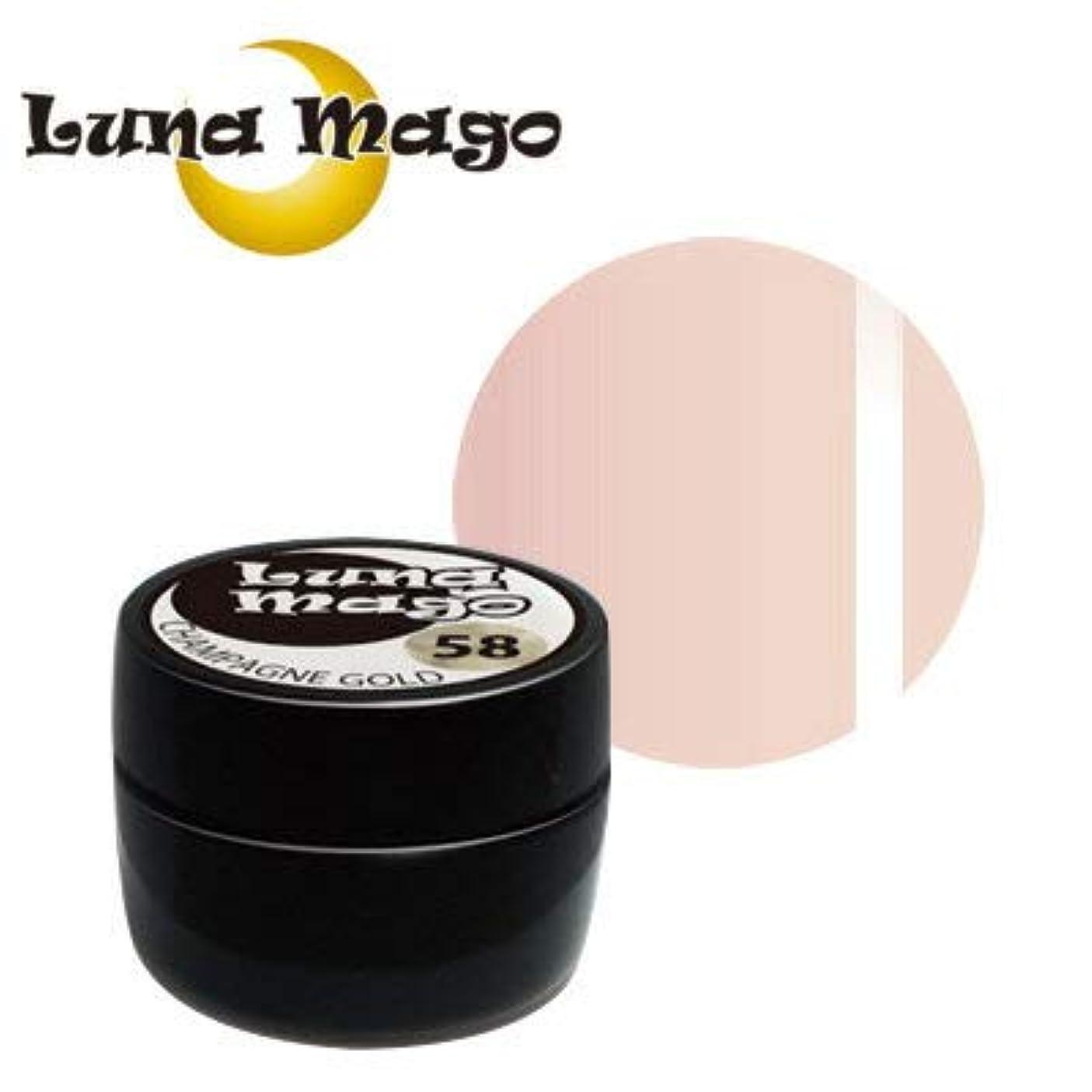 知的影付属品Luna Mago カラージェル 5g 006 ミルキー