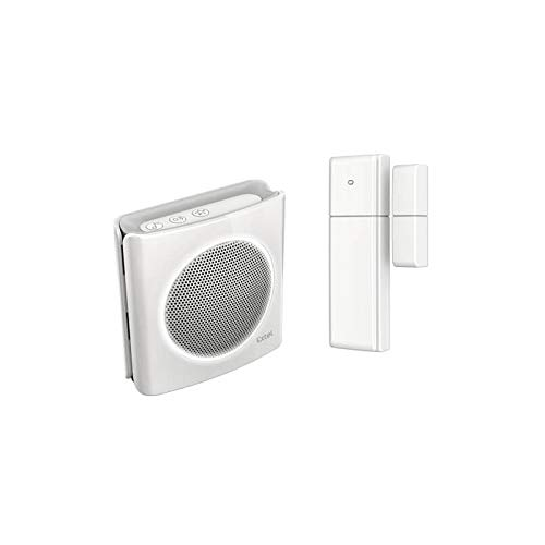 Extel 81747 Detector de apertura de puerta, Blanco