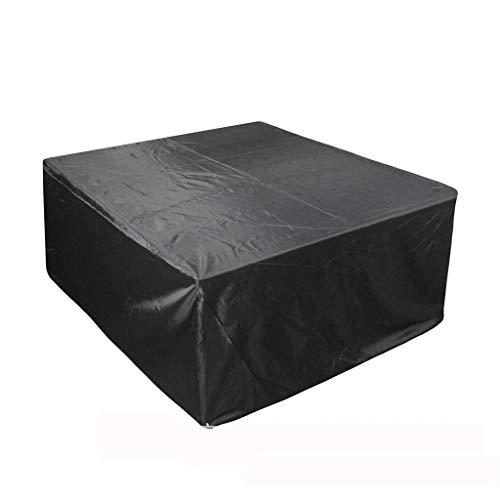MAGFYLY Multifunctionele Tuinhoes, tuintafel meubelhoes 210D Oxford doek stofdicht en waterdicht zwart