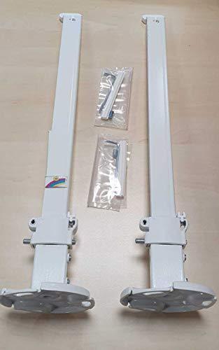 2 Stück Wemefa Standkonsole für Plattenheizkörper Heizkörper Standfuß + Zubehör
