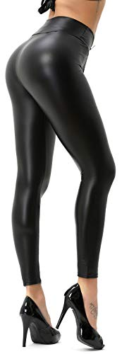 Dames Wetlook leggings