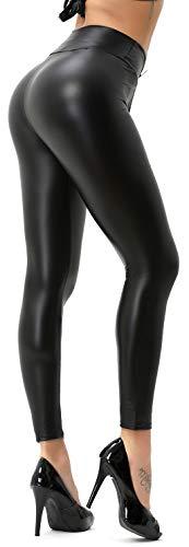 Damen Wetlook Leggings (M)
