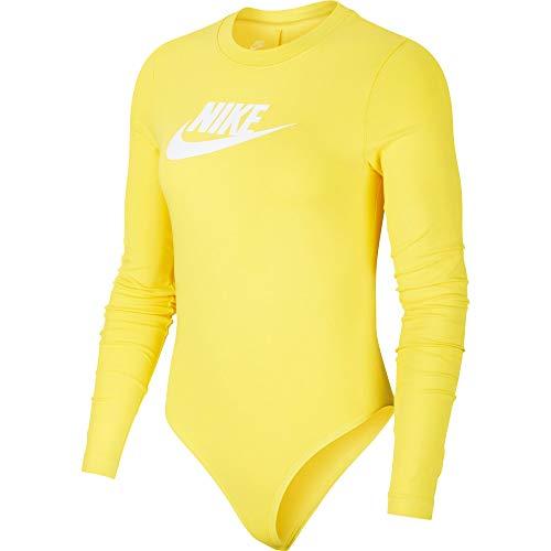 NIKE Sportswear Heritage Body, Mujer, Chrome Yellow/White, S