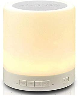 Bluetooth speaker with Touch Lamp Portable Multi color Lights