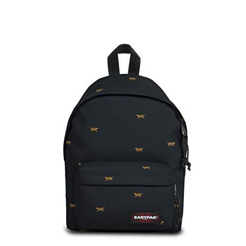 EASTPAK Orbit Backpack, 33.5 cm, 10 L, Mini Tiger (Black)