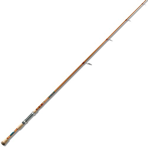 St Croix LGS72MM Legend Glass Spinning Fishing Rod with IPC Technology, 7-feet 2-inches, Honey Pearl