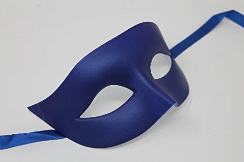 THE GOOD LIFE Mascarilla veneciana para hombre o mujer, color azul mate
