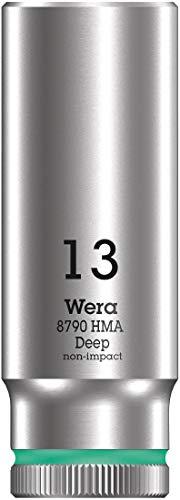 """Wera 05004535001 llave de vaso 3/8\"""", Turquesa, 13.0 mm"""