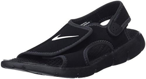 Nike Jungen Sunray Adjust 4 (GS/PS) Zehentrenner, Schwarz (Black/White-Anthracite 011), 37.5 EU