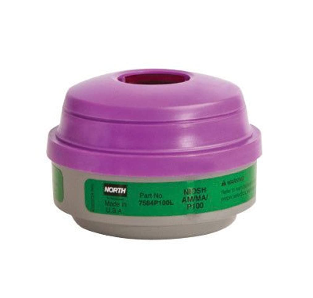 North? by Honeywell Ammonia/Methylamine/Particulate P100 APR Cartridge For 5500, 7700, 5400 And 7600 Series Respirators