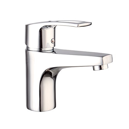 LIDANDA Modern Single Handle Touch-On Bathroom Sink Faucet, Basin Faucet(Chrome Finish)
