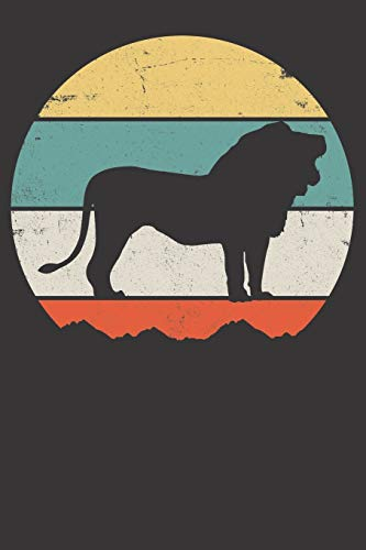 Notebook: Lion Dot Grid 6x9 120 Pages download ebooks PDF Books