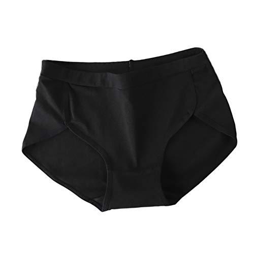 URIBAKY Baumwolle Unterwäsche Damen Sensual Secrets Slip aus High Waist G-String,Mädchen Unterhosen Kurze Tanga Dessous Knicker