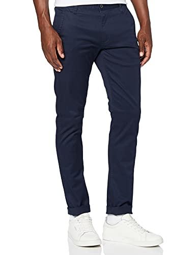 Dockers Alpha Original Khaki Skinny-Lite Pantalones, Azul (Pembroke Blue), 29W / 34L para Hombre