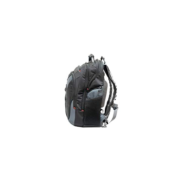 "31Vbov4Ee2L. SS600  - Wenger/SwissGear 600639 maletines para portátil 43,2 cm (17"") - Funda (Funda Tipo Mochila, 43,2 cm (17""), Tirante para Hombro, 2,1 kg, Negro, Gris)"