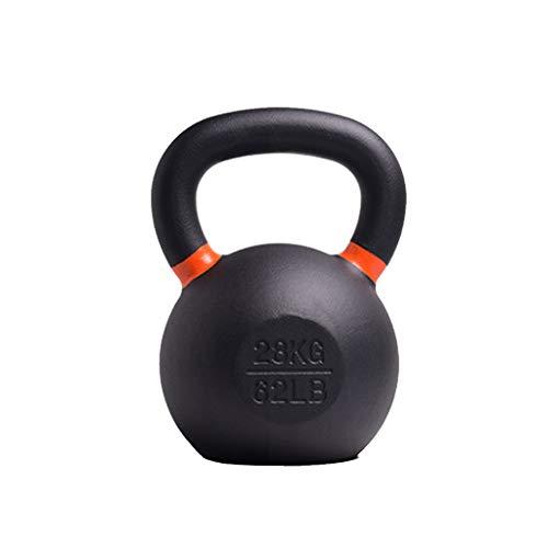 novi Kettlebell in ghisa, 4-28 kg, Kettlebell per Allenamento di Forza e Cardio, Kettlebell per casa e Palestra Fitness e Attrezzature per Il Fitness di Sollevamento Pesi