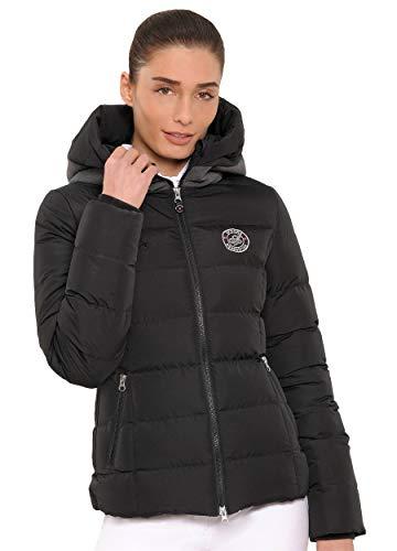 SPOOKS Damen Jacke, Kapuzenjacke, Damenjacke, Herbstjacke - Debbie Jacket Black XL