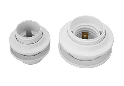 Einbau Fassung aus Kunststoff E14 oder E27 zum auswählen (E27)