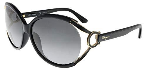 Salvatore Ferragamo Sunglasses SF600S 001 Black 61 14 130, 61mm